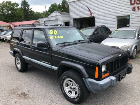 2000 Jeep Cherokee for sale at George's Used Cars Inc in Orbisonia PA