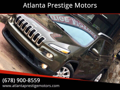 2015 Jeep Cherokee for sale at Atlanta Prestige Motors in Decatur GA