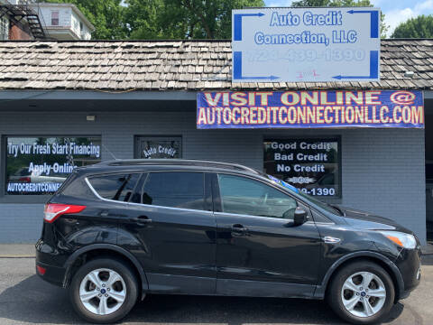 2015 Ford Escape for sale at Auto Credit Connection LLC in Uniontown PA