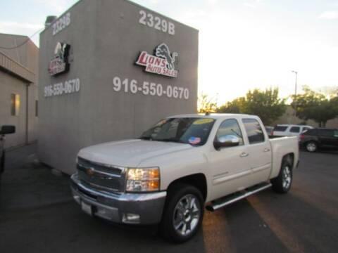 2013 Chevrolet Silverado 1500 for sale at LIONS AUTO SALES in Sacramento CA