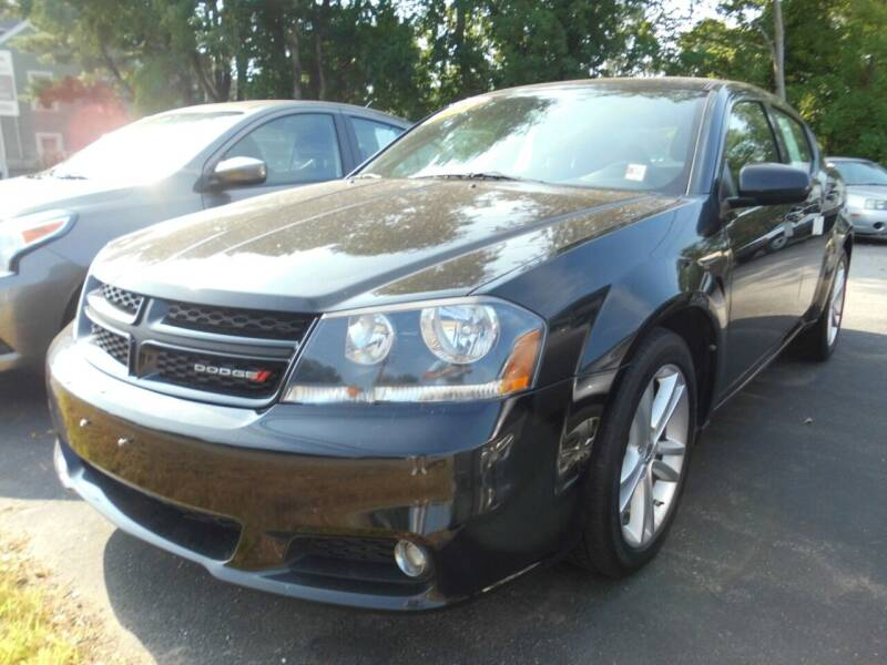 2013 Dodge Avenger for sale at ABC AUTO LLC in Willimantic CT