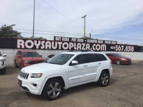 2014 Jeep Grand Cherokee for sale at Roy's Auto Plaza 2 in Amarillo TX