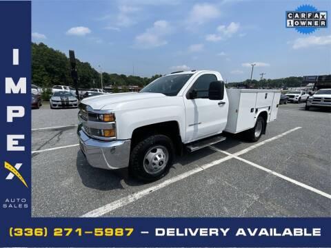 2019 Chevrolet Silverado 3500HD CC for sale at Impex Auto Sales in Greensboro NC