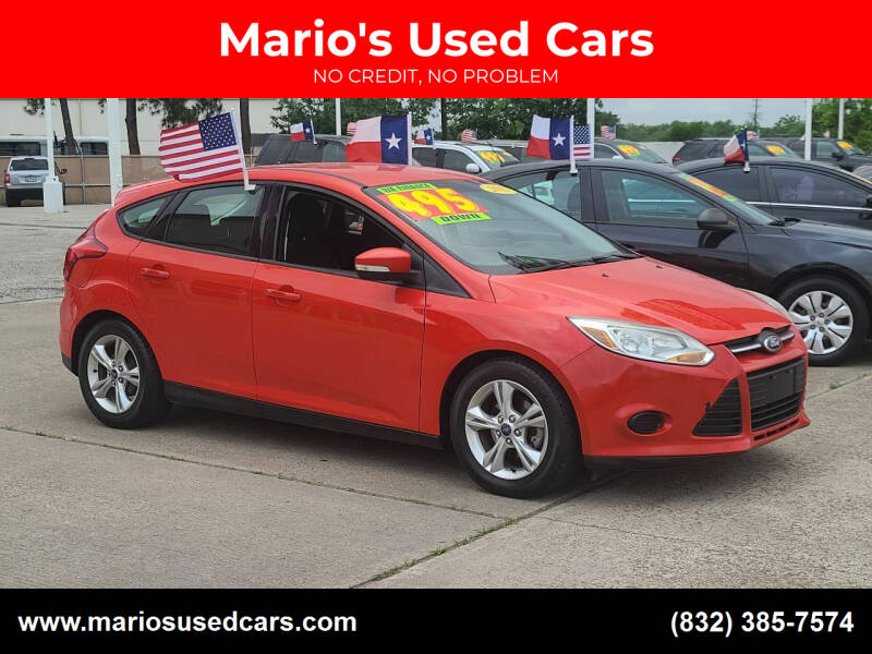 2013 Ford Focus for sale at Mario's Used Cars in Houston TX