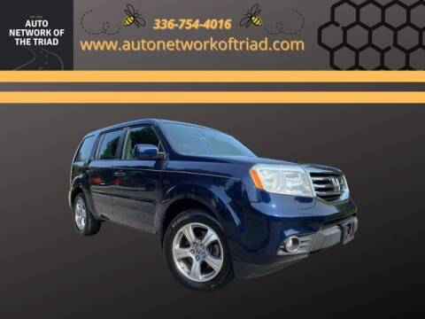 2013 Honda Pilot for sale at Auto Network of the Triad in Walkertown NC
