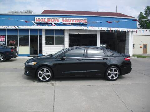 2013 Ford Fusion for sale at Wilson Motors in Junction City KS