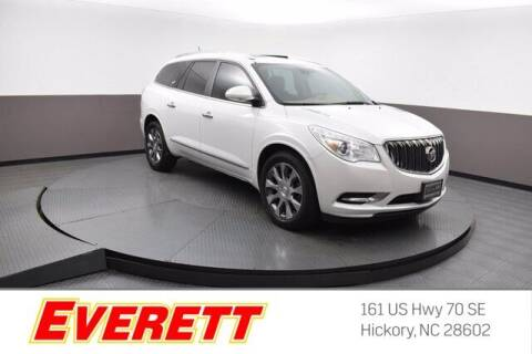 2017 Buick Enclave for sale at Everett Chevrolet Buick GMC in Hickory NC