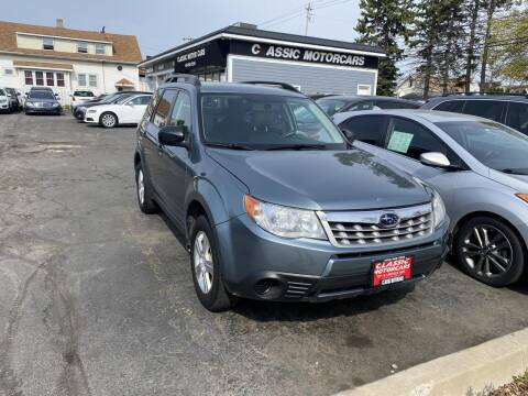 2012 Subaru Forester for sale at CLASSIC MOTOR CARS in West Allis WI