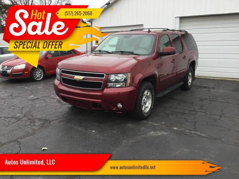 2010 Chevrolet Suburban for sale at Autos Unlimited, LLC in Adrian MI