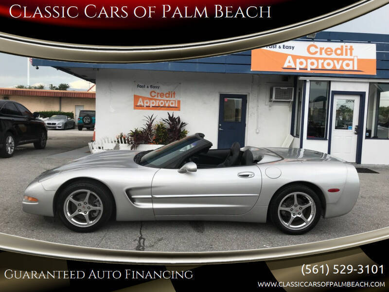 2004 Chevrolet Corvette for sale at Classic Cars of Palm Beach in Jupiter FL