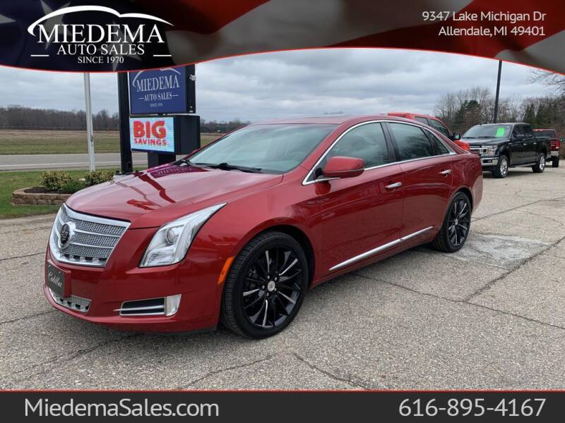 2013 Cadillac XTS for sale at Miedema Auto Sales in Allendale MI
