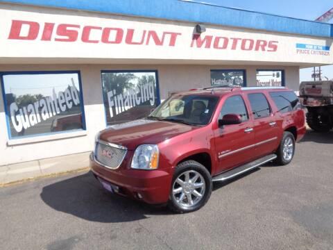 2009 GMC Yukon XL for sale at Discount Motors in Pueblo CO