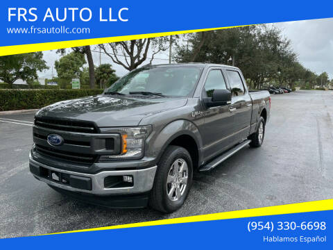 2018 Ford F-150 for sale at FRS AUTO LLC in West Palm Beach FL