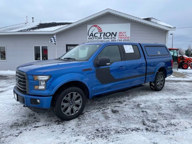 2016 Ford F-150 for sale at Action Motor Sales in Gaylord MI