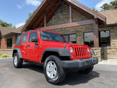 2016 Jeep Wrangler Unlimited for sale at Auto Solutions in Maryville TN