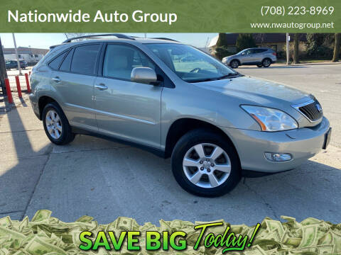 2008 Lexus RX 350 for sale at Nationwide Auto Group in Melrose Park IL