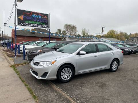 2014 Toyota Camry for sale at AWD Denver Automotive LLC in Englewood CO