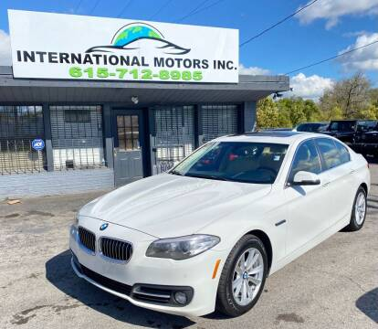 2015 BMW 5 Series for sale at International Motors Inc. in Nashville TN
