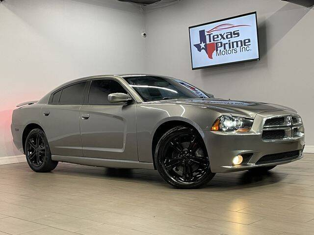 2012 Dodge Charger for sale at Texas Prime Motors in Houston TX