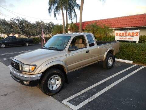 2002 Toyota Tacoma for sale at Uzdcarz Inc. in Pompano Beach FL