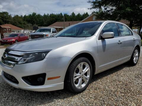 2012 Ford Fusion for sale at Marks and Son Used Cars in Athens GA