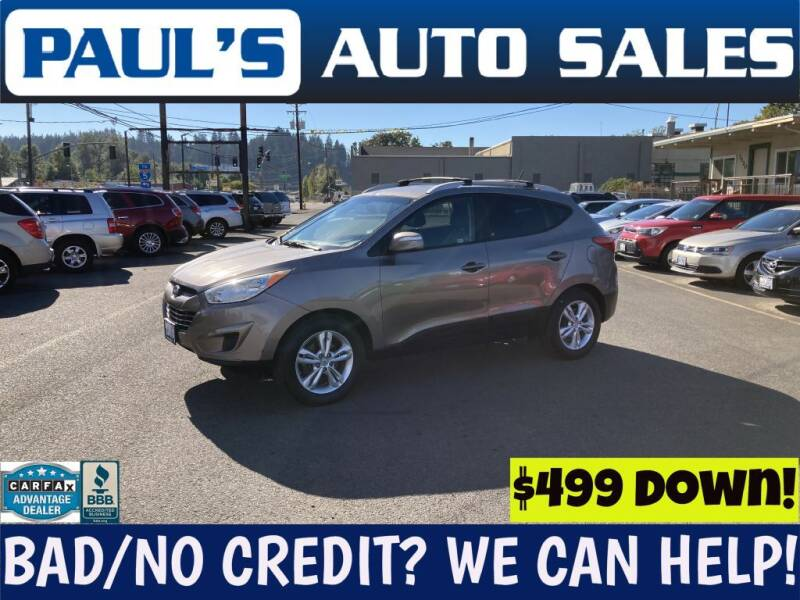 2012 Hyundai Tucson for sale at Paul's Auto Sales in Eugene OR