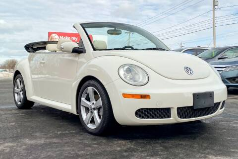 2007 Volkswagen New Beetle Convertible for sale at Knighton's Auto Services INC in Albany NY