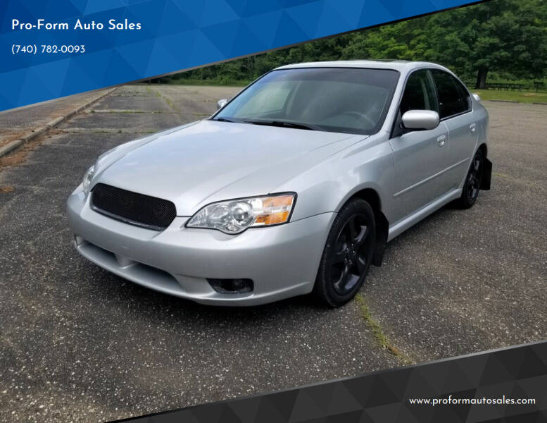 2007 Subaru Legacy for sale at Pro-Form Auto Sales in Belmont OH