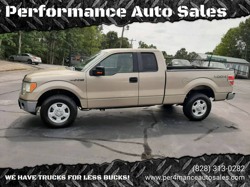 2010 Ford F-150 for sale at Performance Auto Sales in Hickory NC