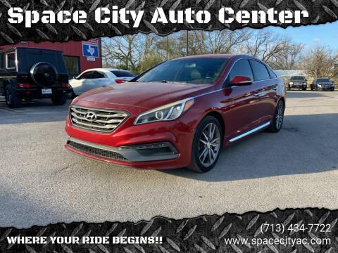 2015 Hyundai Sonata for sale at Space City Auto Center in Houston TX
