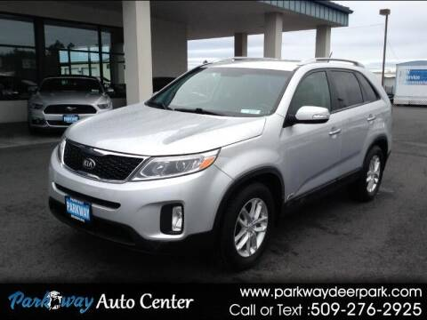 2014 Kia Sorento for sale at PARKWAY AUTO CENTER AND RV in Deer Park WA