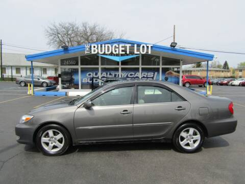 2003 Toyota Camry for sale at THE BUDGET LOT in Detroit MI