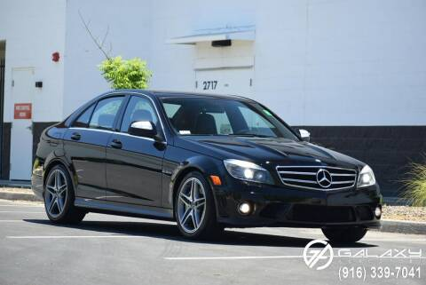 2008 Mercedes-Benz C-Class for sale at Galaxy Autosport in Sacramento CA