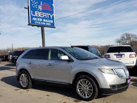 2011 Lincoln MKX for sale at Liberty Auto Sales in Merrill IA
