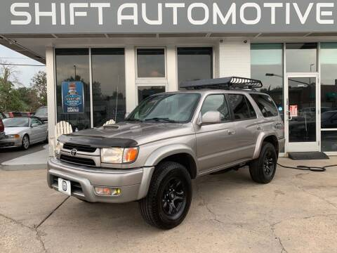 2002 Toyota 4Runner for sale at Shift Automotive in Denver CO