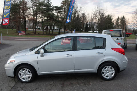 2012 Nissan Versa for sale at GEG Automotive in Gilbertsville PA