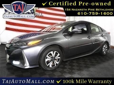 2017 Toyota Prius Prime for sale at Taj Auto Mall in Bethlehem PA