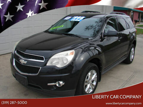 2011 Chevrolet Equinox for sale at Liberty Car Company - II in Waterloo IA
