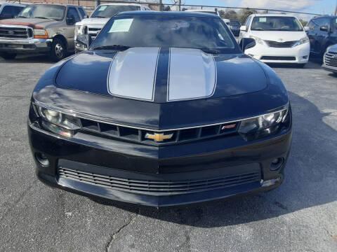 2015 Chevrolet Camaro for sale at LOS PAISANOS AUTO & TRUCK SALES LLC in Peachtree Corners GA