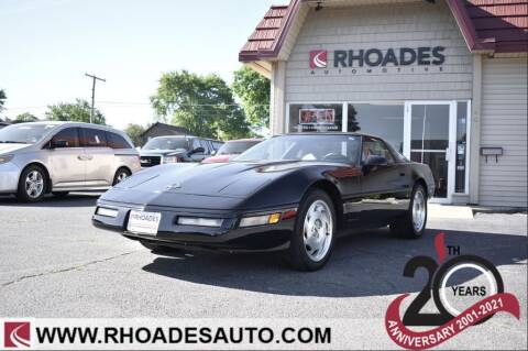 1995 Chevrolet Corvette for sale at Rhoades Automotive in Columbia City IN