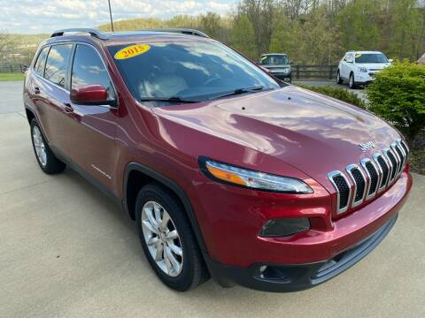 2016 Jeep Cherokee for sale at Car City Automotive in Louisa KY