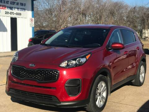 2017 Kia Sportage for sale at Discount Auto Company in Houston TX