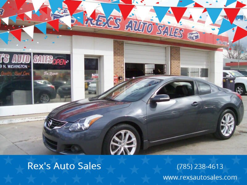 2011 Nissan Altima for sale at Rex's Auto Sales in Junction City KS