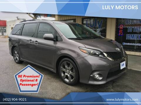 2015 Toyota Sienna for sale at Luly Motors in Lincoln NE