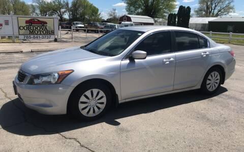 2009 Honda Accord for sale at Cordova Motors in Lawrence KS