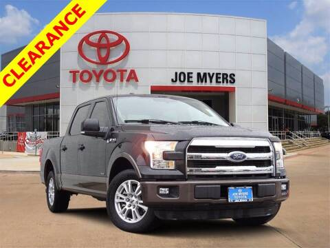 2015 Ford F-150 for sale at Joe Myers Toyota PreOwned in Houston TX