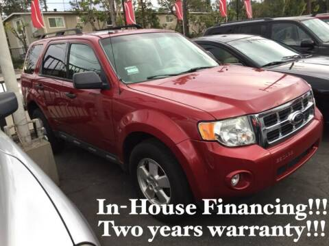 2011 Ford Escape for sale at Sidney Auto Sales in Downey CA