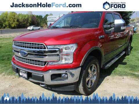 2020 Ford F-150 for sale at Jackson Hole Ford of Alpine in Alpine WY