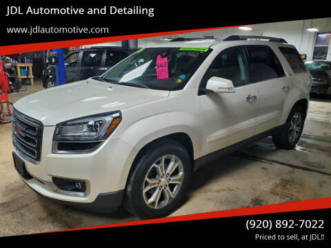 2014 GMC Acadia for sale at JDL Automotive and Detailing in Plymouth WI