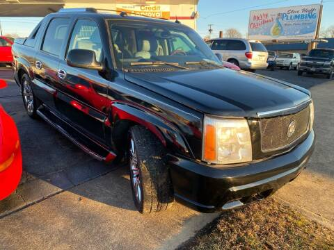 2004 Cadillac Escalade EXT for sale at All American Autos in Kingsport TN